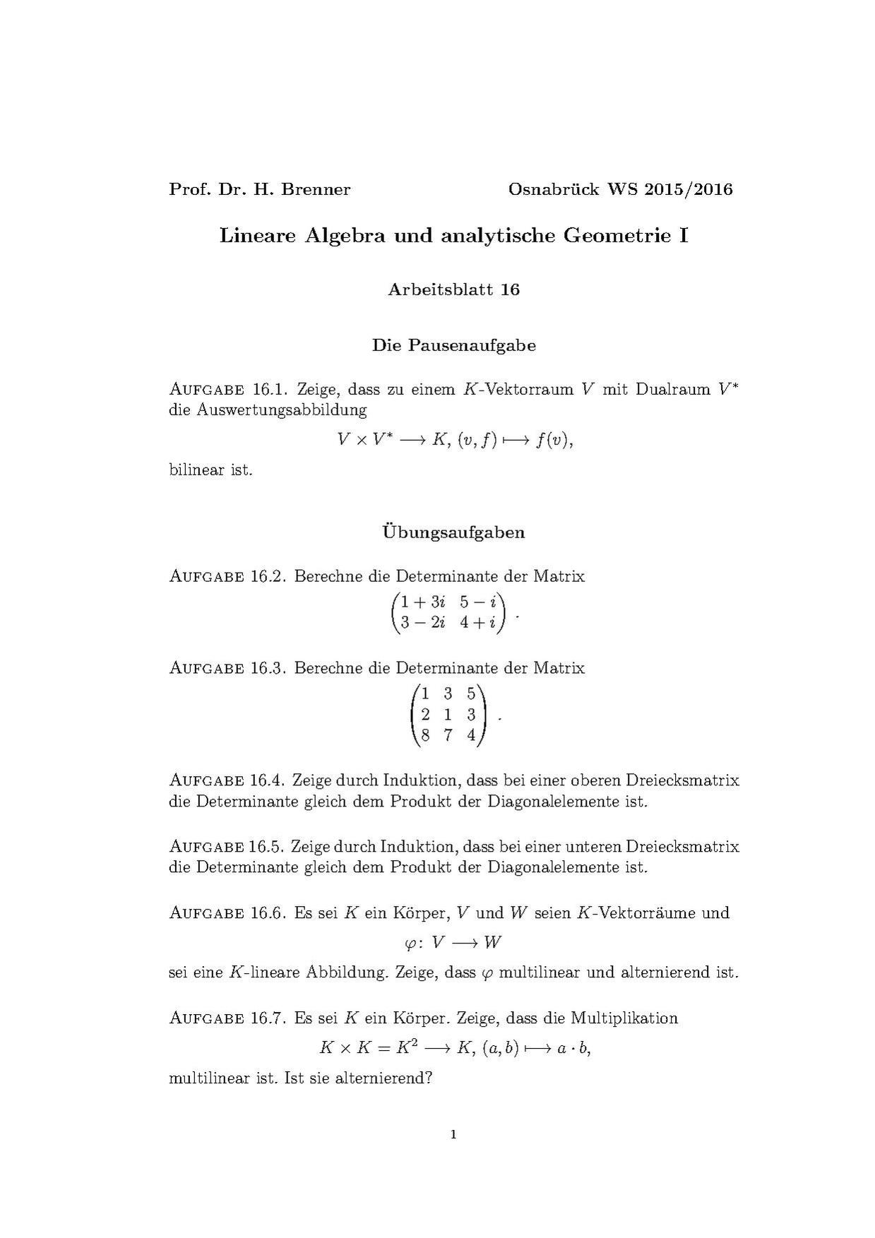Contemporary Determinante Arbeitsblatt Component - Kindergarten ...