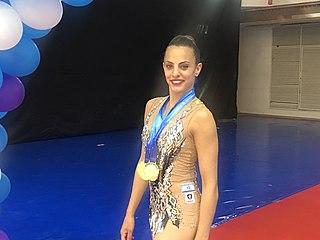 Linoy Ashram Israeli rhythmic gymnast