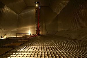 LNG carrier - Interior of a non-spherical, Technigaz Mark III stainless steel membrane, LNG tank