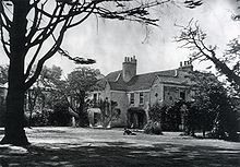 Photo of Little Holland House in Kensington, later demolished in 1875