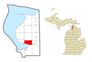 Little Traverse Township, Michigan Civil township in Michigan, United States