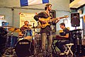 Live jazz music in Harats Pub, Krasnodar, August, 2012-1.jpg