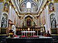 Ljubljana Kathedrale St. Nikolaus Innen Chor 6.JPG