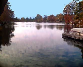 Overland, Missouri - Lake Sherwood, view from southeastern shore