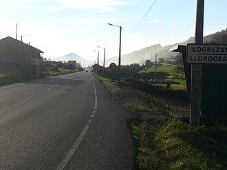Logrezana - AS-19 road in Logrezana