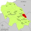 Localització d'Algimia d'Almonesir respecte de l'Alt Palància.png