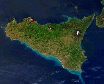 Location Palermos in Sicily