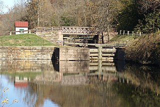 Schuylkill Canal historic canal along the Schuylkill River in Pennsylvania