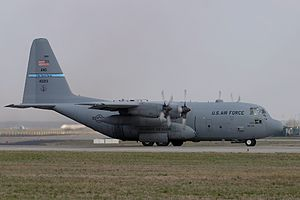 2009 California mid-air collision - Image: Lockheed C 130H Hercules (L 382), USA Air Force AN0553599