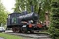 Locomotief bij voormalig station, nu hotel-restaurant - Brüggen - 20536791 - RCE.jpg