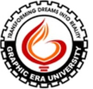 Graphic Era University - Image: Logo Of Graphic Era University