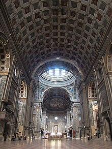 Basilica of sant 39 andrea mantua wikipedia the free for Architecture quattrocento