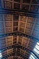 London - Cromwell Road - Natural History Museum 1881 by Alfred Waterhouse - Arch over the Central Hall - View North & Up on the Painted Ceiling I.jpg