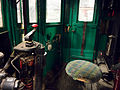 London Underground electric sleet locomotive (cab, interior) - Flickr - James E. Petts (1).jpg