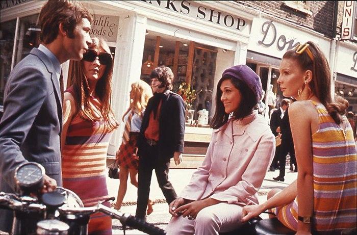 Londons Carnaby Street, 1966