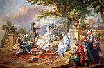 Loo, Charles-Amédée-Philippe van - The Sultana Served by her Eunuchs.jpg