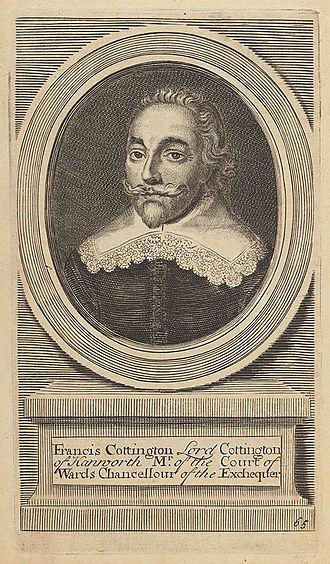Francis Cottington, 1st Baron Cottington - Francis Cottington's title became extinct at his death because all his children predeceased him.