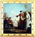 Lord Clive receiving from the Nawab of Bengal.jpg