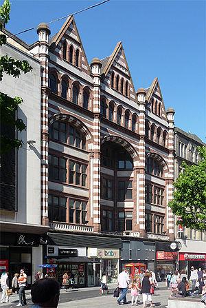 Walter Aubrey Thomas - Image: Lord Street Liverpool