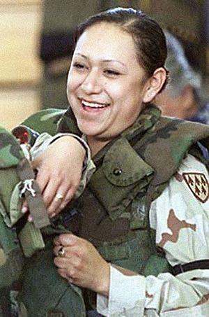 Lori Piestewa - Piestewa a few weeks before her death in 2003.
