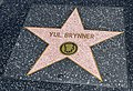 Los Angeles (California, USA), Hollywood Boulevard, Yul Brynner -- 2012 -- 4972.jpg
