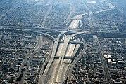 Los Angeles - Echangeur autoroute 110 105
