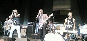 Lostprophets - Lostprophets performing at the 2012 Warped Tour