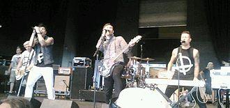 Lostprophets - Lostprophets performing at the 2012 Warped Tour