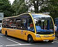 Lothian Buses bus 40 Optare Solo SR SN08 BZC Mac Tours Standard Life livery.jpg