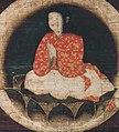 Lotus detail, Chigo Daishi (Korinji Imabari) (cropped).jpg