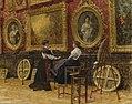 Louis Beroud - les copistes Louvre 1909.jpg