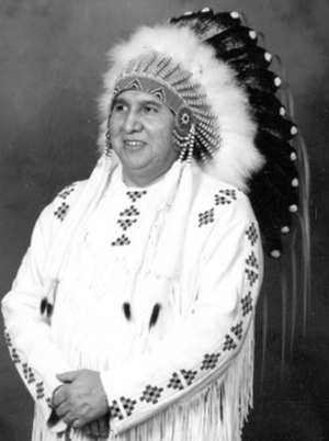Peguis First Nation - Louis J. Stevenson chief of Peguis from 1988 to 2014