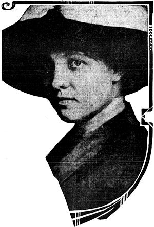 Carl Hans Lody - Louise Storz, Lody's wife from October 1912 to March 1914