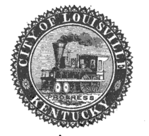 Seal of Louisville, Kentucky - Seal of Louisville, 1861–1910