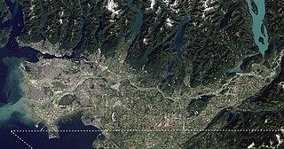 Lower Mainland Region in British Columbia, Canada