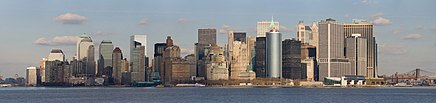 Lower Manhattan from Staten Island Ferry Jan 2006.jpg