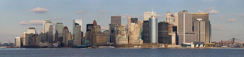 Fichier:Lower Manhattan from Staten Island Ferry Jan 2006.jpg