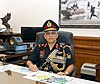 Lt. Gen. P.S. Rajeshwar taking charge as the 12th Chief of Integrated Defence Staff to Chairman COSC, in New Delhi on November 01, 2018.JPG