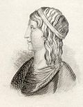 Lucius Apuleius Platonicus, from 'Crabbes Historical Dictionary', published in 1825 (C19).jpg