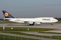 D-ABTK - B744 - Lufthansa