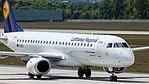 Lufthansa CityLine Embraer ERJ-190 (D-AECI) at Frankfurt Airport.jpg