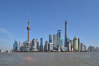 Lujiazui by day