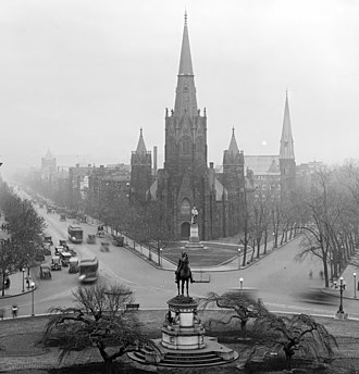 Luther Place Memorial Church - Luther Place Memorial Church on Thomas Circle, ca. 1922