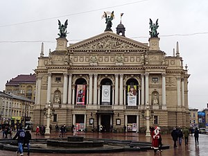 Lviv Theatre of Opera and Ballet - Lviv Theatre of Opera and Ballet