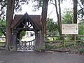 Lych Gate St. John's Church, Copthorne, West Sussex - geograph.org.uk - 1728218.jpg