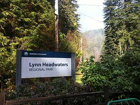 Lynn Headwaters Regional Park Wikipedia