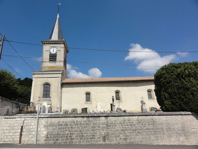 Ménil-aux-Bois (Meuse) église