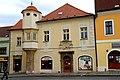 Měšťanský dům Nedvědovský, Masarykovo nám. 9, Štechova ul., Slaný, okr. Kladno, Středočeský kraj.JPG