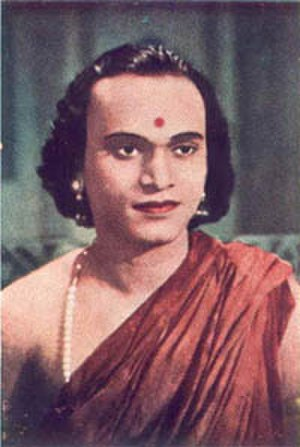 M. K. Thyagaraja Bhagavathar - M. K. T. in the film Ambikapathy.