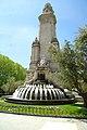 MADRID VERDE JARDIN DE LA PLAZA DE ESPAÑA - panoramio.jpg